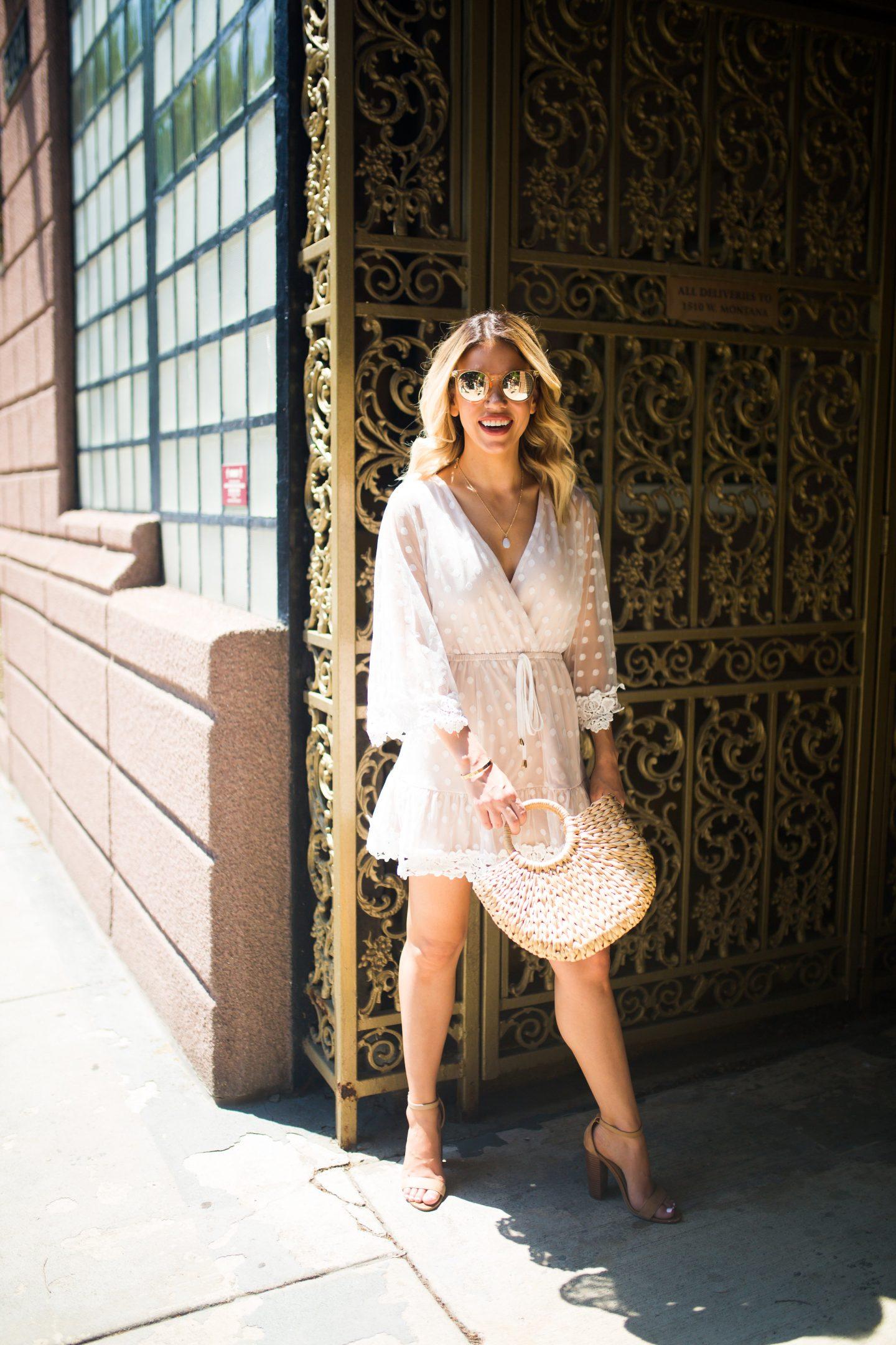 summer dress, Chicago Blogger