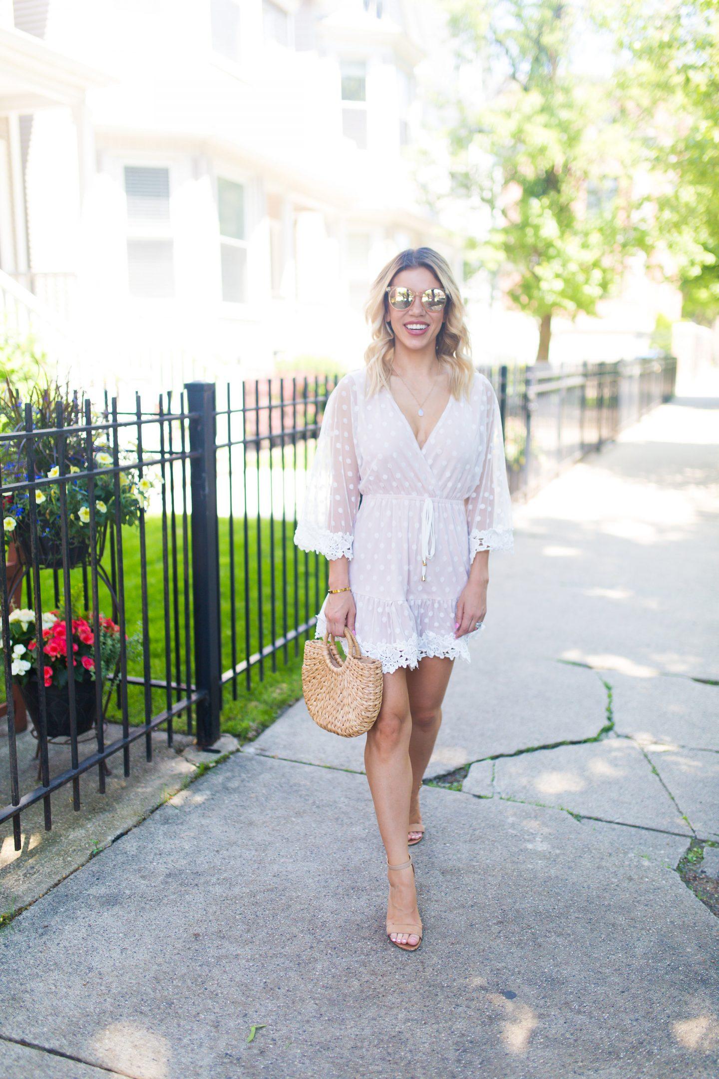 summer dress, blogger, fashion