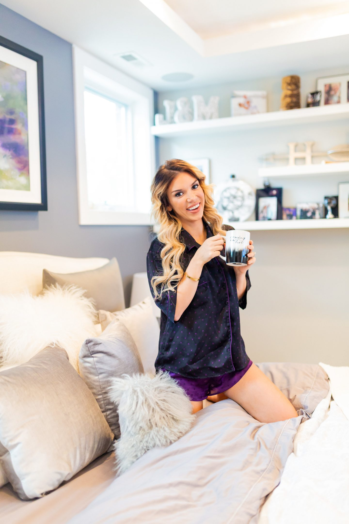 Jillian Horn, Chicago Style Blogger, Chicago mom blogger, best pajamas for a steal, nordstrom pajamas, silk pajamas in chicago
