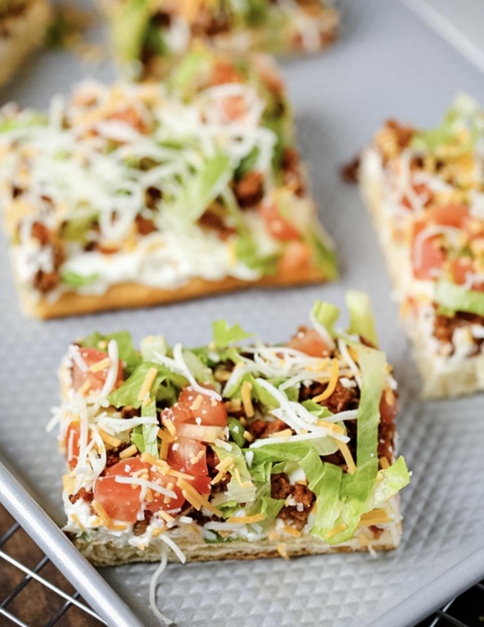 Jillian Horn, taco pizza